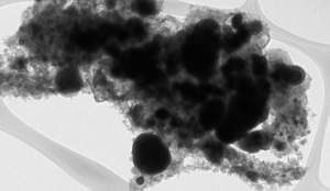 Nanopartículas de hierro encapsuladas en carbono