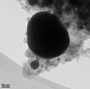 Nanopartículas de hierro